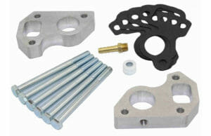 LS Water Pump Spacers Billet Aluminum 3/4 thick by LSX Innovations